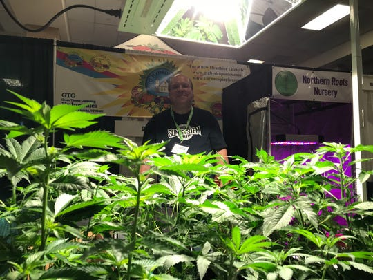 Green Thumb Gardening and Hydroponics had some deals on lights at the Vermont Cannabis and Hemp Convention on Sat. May 12, 2018.