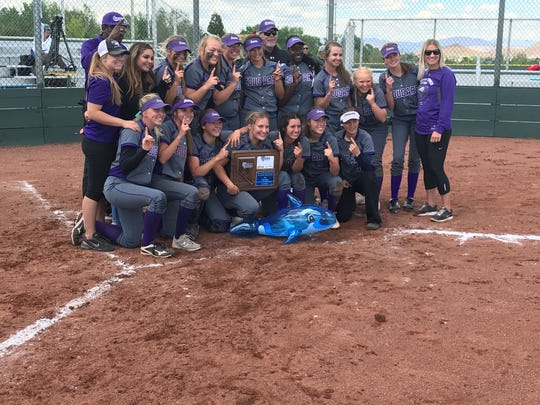 Spanish Springs won the Northern 4A softball Region title on Monday.