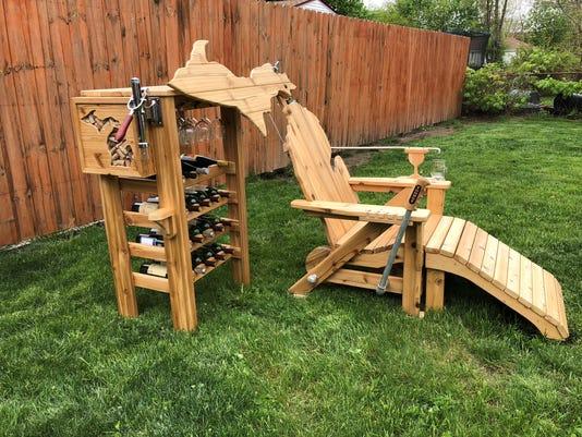 Michigan lawn chair