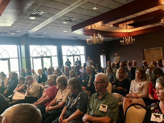 Nearly 100 people attend the Natural Resources Commission