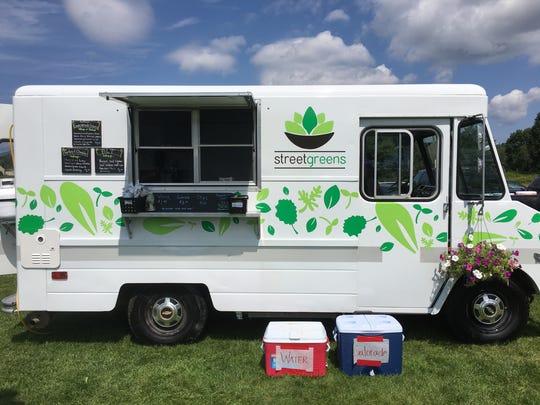 The Streetgreens food truck is a former Burlington