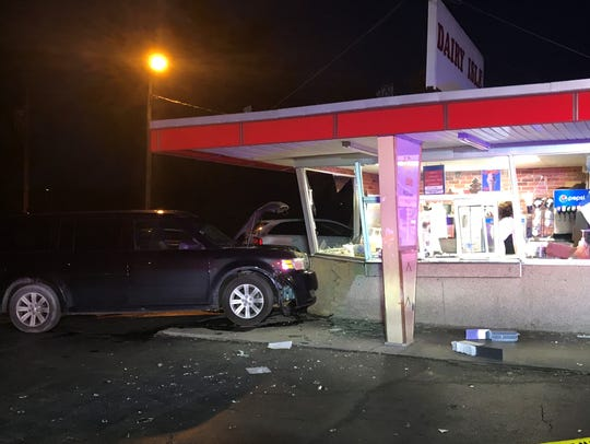 A sport utility vehicle hit the Dairy Isle on East Main Street in Newark in May 2018. The restaurant recently reopened.