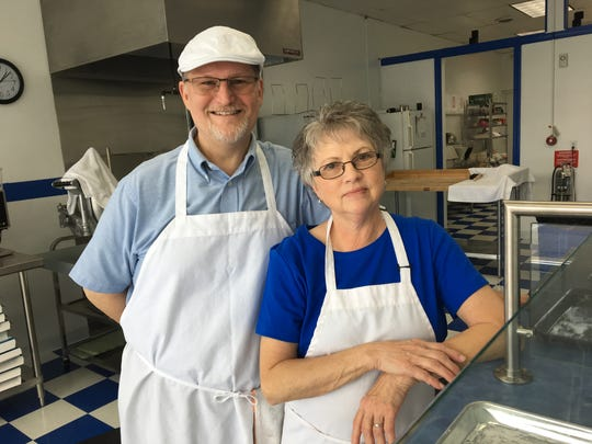 Dave and Loretta Bailey opened up Madsen Donuts in Staunton across from the Howard Johnson on Central Avenue in Staunton in May. It has now been renamed D & L Donuts.