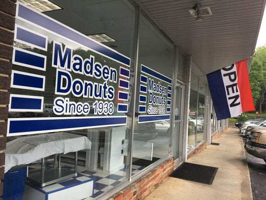 Dave and Loretta Bailey recently opened up Madsen Donuts