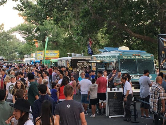 Food Truck Friday, shown here in 2017, features a new