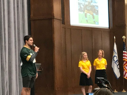 Blake Martinez Speaks at CELA