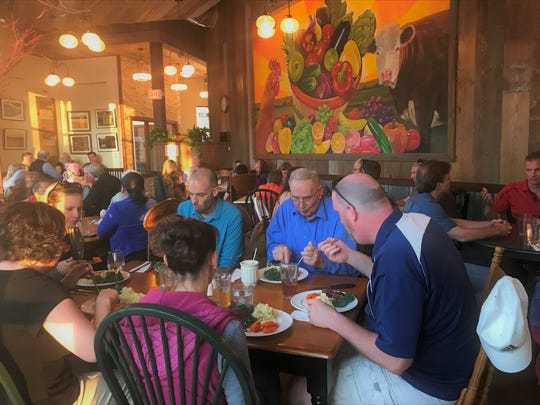 Harvest Cafe kicked off their dinner hours with a trial run this past Wednesday.