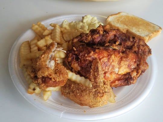 The famous former Bon Ton Mini Mart chicken is once again available under a different name -- Roadfood chicken, at Brown Bag Burgers.