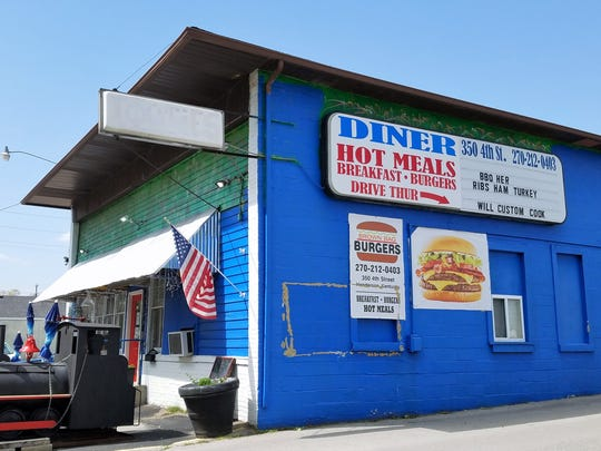 Brown Bag Burgers is tucked away just off Green Street on Fourth in Henderson.