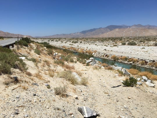 Alexis Sanchez, 21, of Palm Springs was was killed Thursday when a car plunged into the Whitewater River off Highway 111 north of Palm Springs.