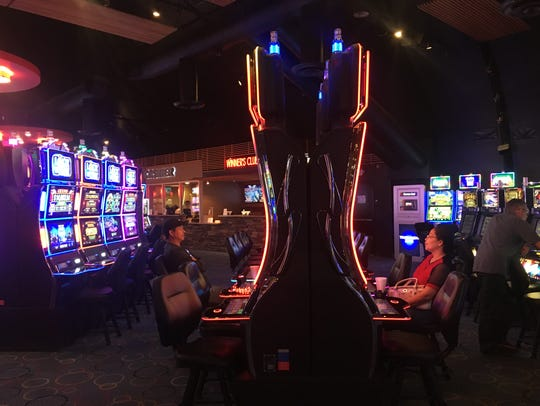 The Cahuilla Casino is located in a travel center along