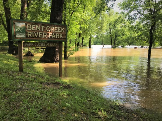 Bent Creek River Park flooding