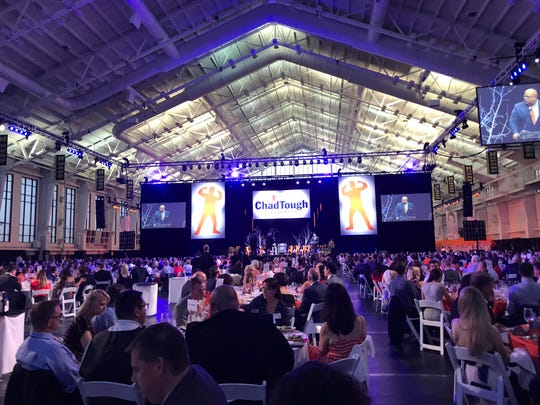 The ChadTough Foundation's Champions for Change gala in Ann Arbor on May 19, 2018.