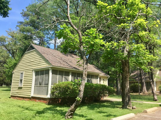 Overnight visitors can rent cottage-style cabins at Chemin-A-Haut State Park in Bastrop.