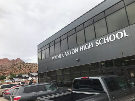 The present Water Canyon High School in Hildale, Utah, opened in April 2016 in a renovated warehouse next door to Phelps Elementary School. That school had been closed in 2000 after the Fundamentalist Mormon leader and prophet who controlled the town, Warren Jeffs, called the public school evil and prohibited FLDS church members from attending. But the building reopened in 2014 to house the high school and kindergarten through eighth grades.