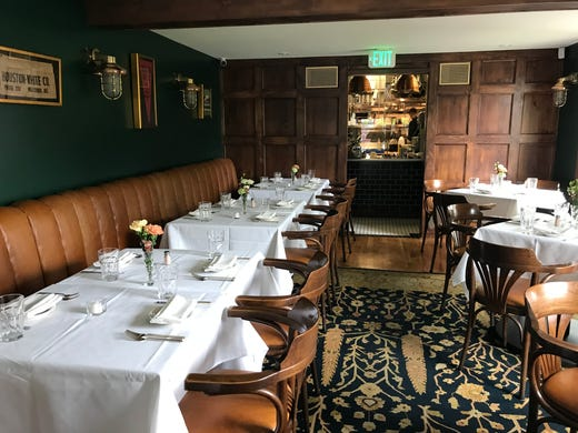 The Dining Room Of New Houston White Co Steakhouse