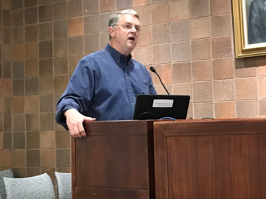Frank Holleman, a Greenville attorney and former United States deputy secretary of education, spoke to Greenville school trustees Monday evening in support of a tax increase to fund teacher pay raises.