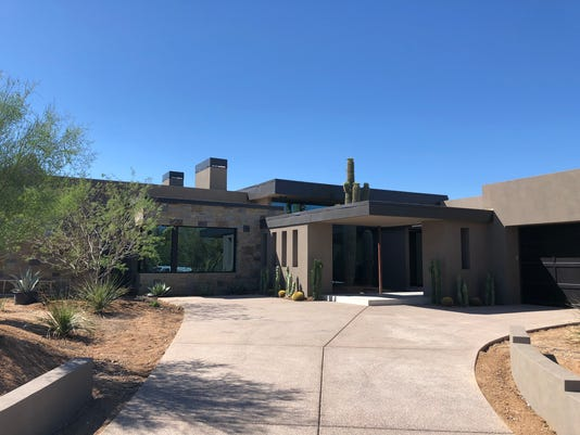 Luxury home Estancia community in Scottsdale