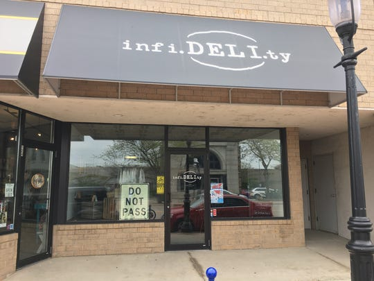 infi.DELI.ty sandwich shop will close its doors in June 2018 after three years on Broadway in De Pere.