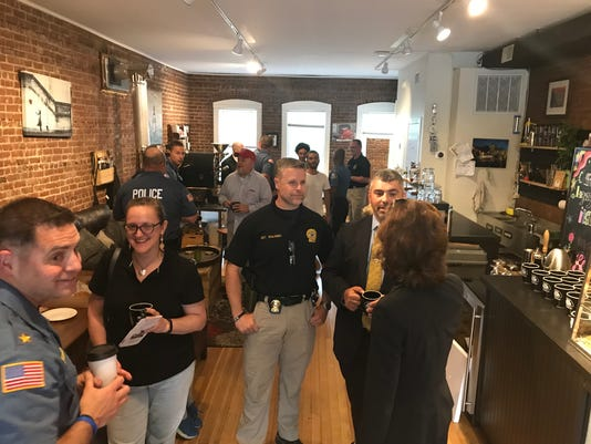 Boonton Coffee with a Cop