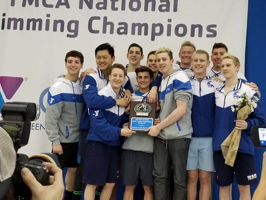 Somerset Hills YMCA Swim Team has record-breaking short course season PHOTO CAPTION