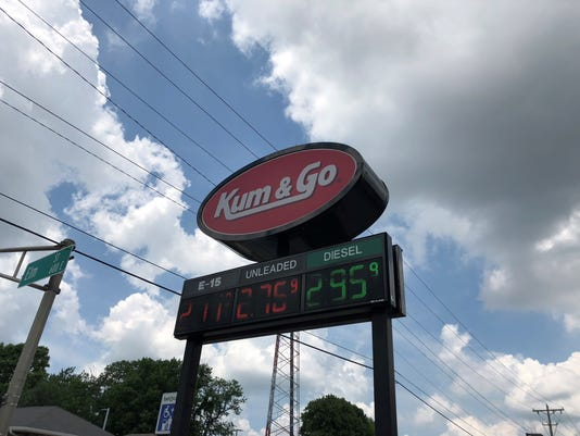 gas prices Kum & Go