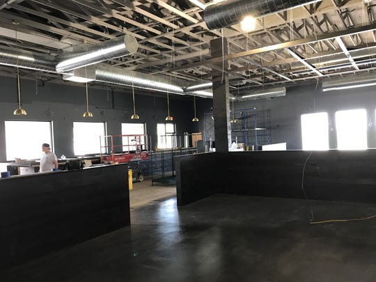The new space for Central Standard Burgers, Beer &