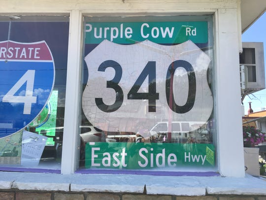 The Purple Cow outside of Waynesboro has opened a new