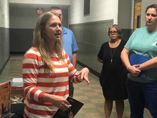 Regional Overdose Prevention Specialist Shelly Gupton