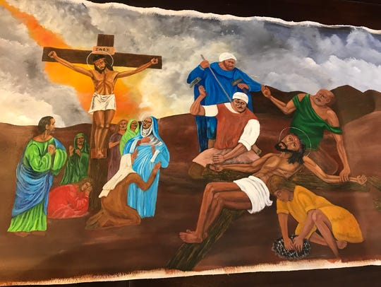A new Stations of the Cross art piece is traveling around to churches and religious institutions in Middle Tennessee. The piece was created by death row inmates at Riverbend Maximum Security Institution in Nashville.