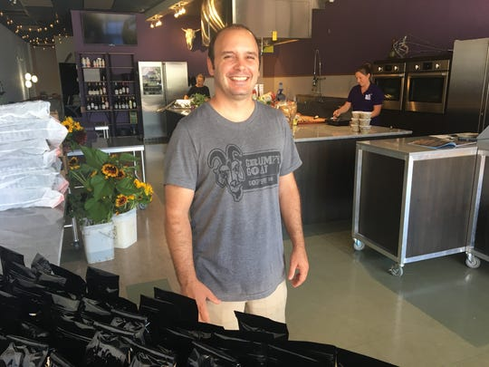 Brian Abernathy owns Grumpy Goat Coffee Company, a gourmet coffee roaster based in Bonita Springs.