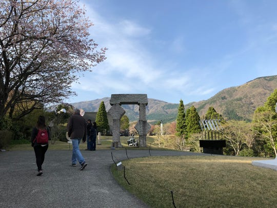 The Hakone Open-Air Museum juxtaposes artwork with
