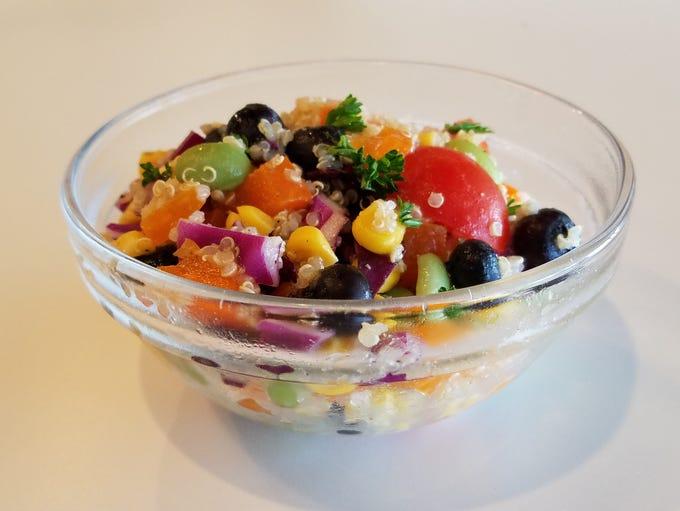 Rainbow quinoa salad might be one of nine deli salads
