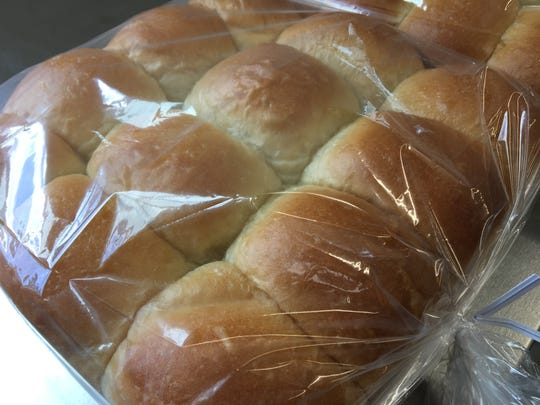 Rolls from Briar Patch Bakery in Mount Solon.