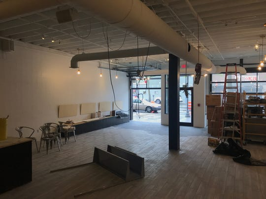 Construction is underway at the Dessert Oasis Coffee Roasters in Royal Oak. It is scheduled to open in June.