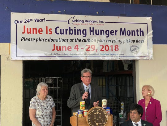 The 24th annual Curbing Hunger Month food drive was
