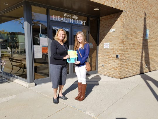 West Allis resident and Girl Scout Eleanor Brown's project addressed the danger of hearing loss and targeted her message to reach teens.  The West Allis Health Department will distribute Brown's information at future employee hearing screenings.