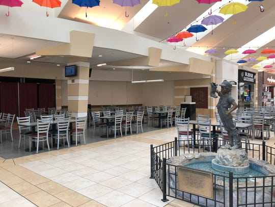 Another storefront in the Wausau Center mall is vacant,