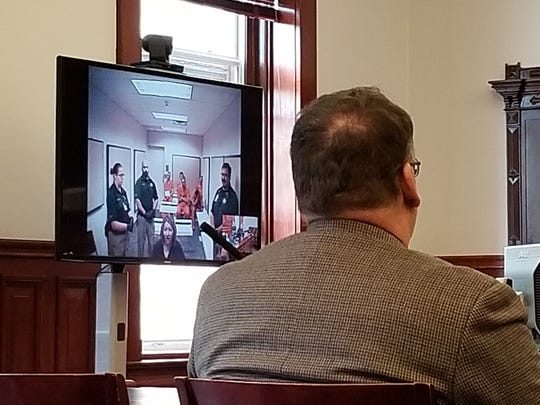 In Cascade County District Court, essential hearings that do not require witnesses are still being conducted virtually, including initial appearances on felony charges.