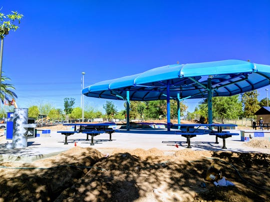 The new Tempe splash pad will open in June.
