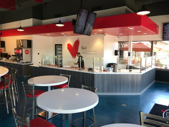 Koi Poke's newest location is in Chandler.