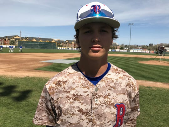 Reno High senior Sawyer Jaksick will play baseball