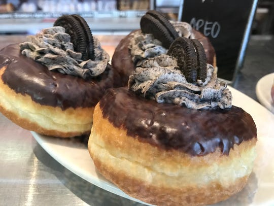 Oreo doughnuts are among the over-the-top options at