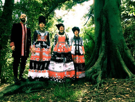 Ukraine band DakhaBrakha