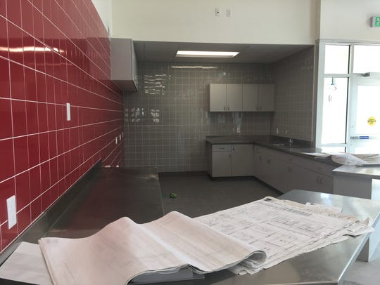 The nutrition center at SUU's George S. Eccles Performance