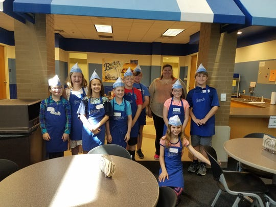 """On May 29, after a unit on personal financial literacy, the Kiel Middle School fifth-graders visited """"BizTown"""" in Milwaukee."""