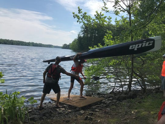 On June 2, the Oradell Reservoir was open to the public
