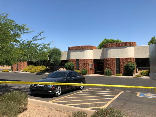 Scottsdale Police are investigating an incident near