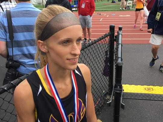 Denmark junior Leah Kralovetz.