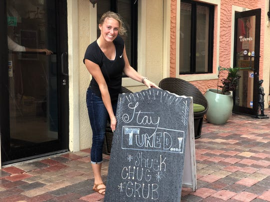Samantha Brooke, co-owner of the new restaurant, grew
